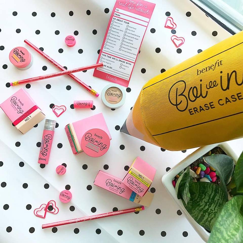 Zaczarowany ołówek od Benefit Cosmetics, czyli zestaw korektorów Erase Case Boi-ing