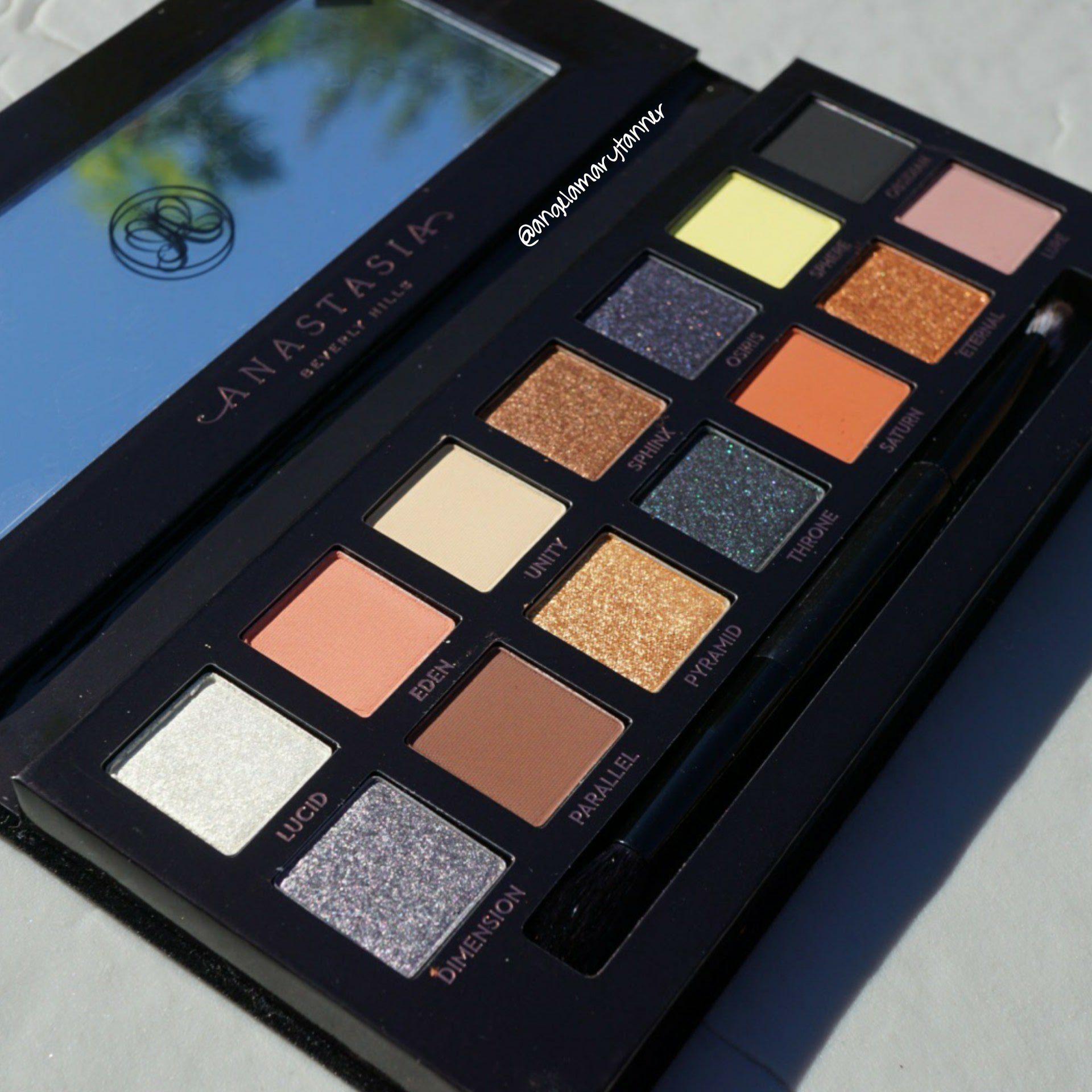 Jak zrobić makijaż oczu z Prism Palette marki Anastasia Beverly Hills?